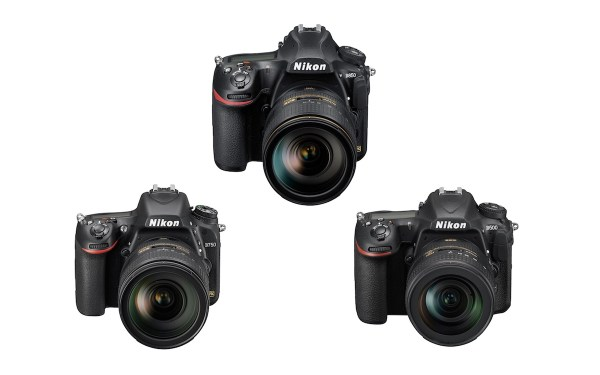 Nikon D850 vs D750 vs D500 - Comparison