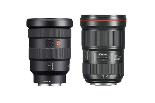 Sony FE 16-35mm f/2.8 GM vs Canon EF 16-35mm f/2.8L III - Comparison