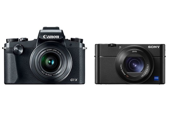 Canon G1 X Mark III vs Sony RX100 V - Comparison