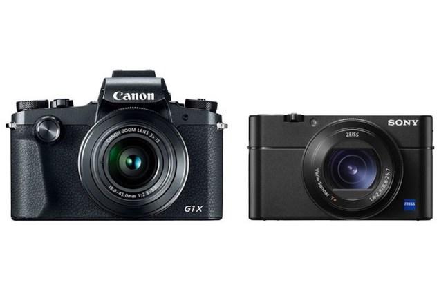 Canon G1 X Mark III vs Sony RX100 V - Comparison
