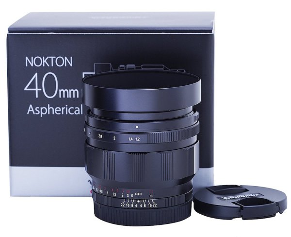 Voigtlander NOKTON 40mm f/1.2 lens for E-mount: US pricing and first reviews