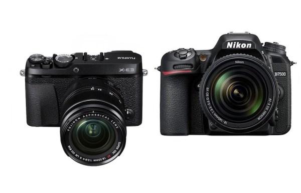 Fujifilm X-E3 vs Nikon D7500 – Comparison