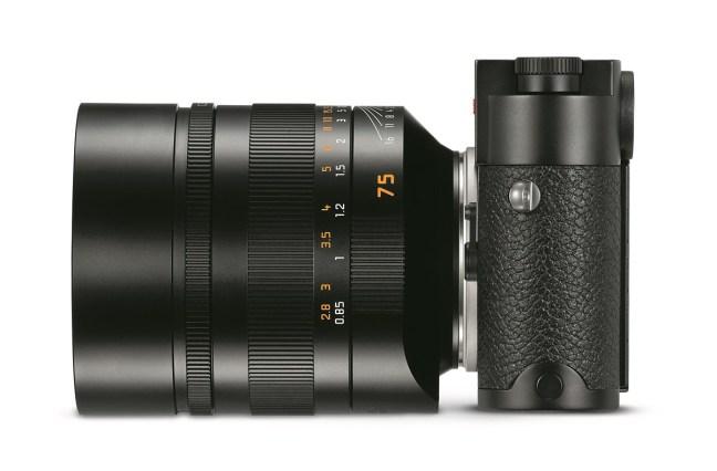 Leica Noctilux-M 75mm f/1.25 ASPH. Lens Announced, Price $12,795