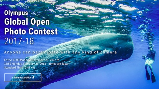 Olympus Global Open Photo Contest 2017-18