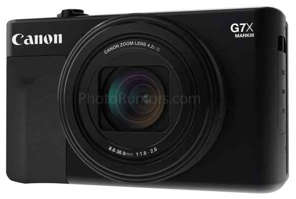 First Canon PowerShot G7 X Mark III Specifications Leaked Online