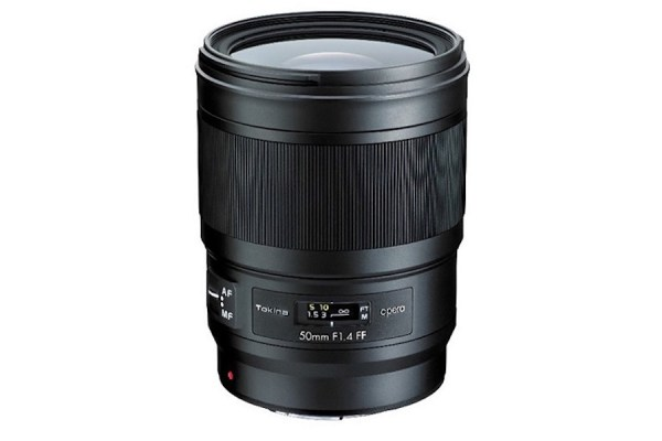 Tokina Opera 50mm f/1.4 FF lens announced for full frame DSLRs