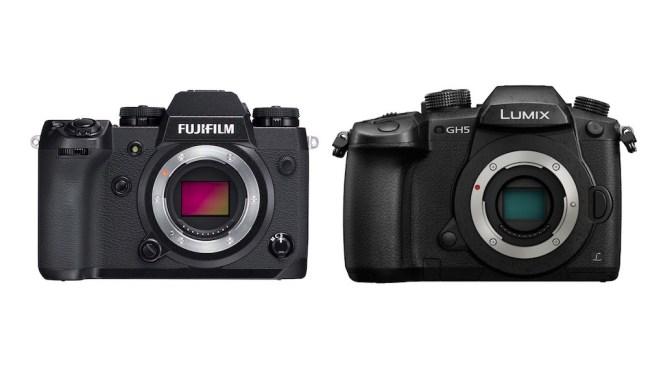 Fujifilm X-H1 vs Panasonic GH5 – Comparison