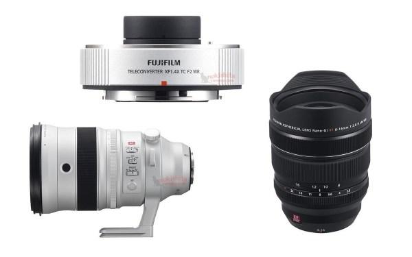 Updated X Mount Lens Roadmap – XF 16mm f/2 8, XF 16-80mm f/4, XF