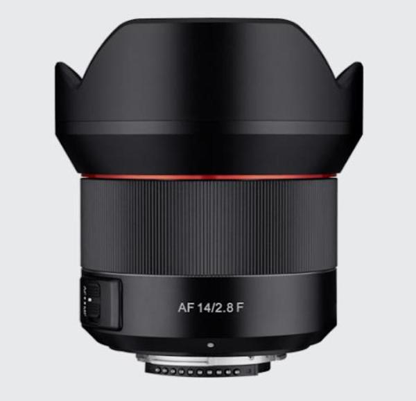 Samyang AF 14mm f/2.8 Lens for Nikon F Mount Announced, Price $799