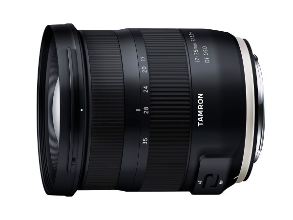 Tamron 17-35mm f/2.8-4 Di OSD Full Frame Lens Announced for Canon and Nikon