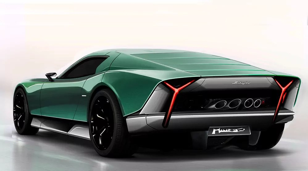 Lamborghini-Miura-Concept-Marco-van-Overbeeke-Rear-View-Dailycarblog