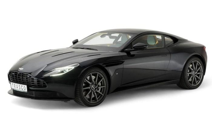 Aston Martin DB11, Trasco, armor plated, dailycarblog.com