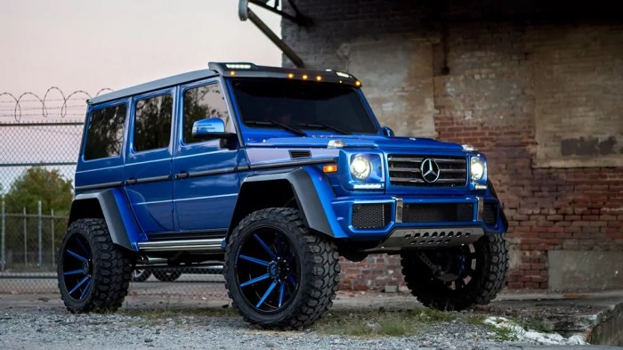Lil Baby, customised Mercedes G Wagon 550, massive, dailycarblog.com