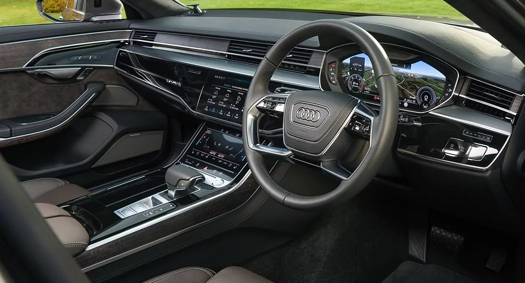 Audi A8L, Luxury, interior dailycarblog.com