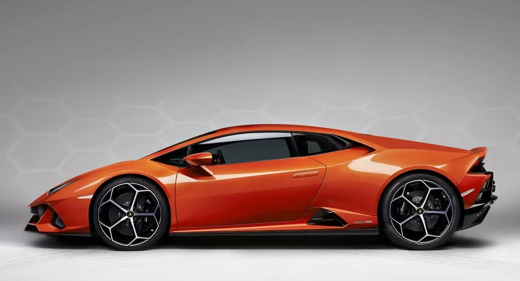 Lamborghini Huracan, 2020 Facelift, side view, dailycarblog.com