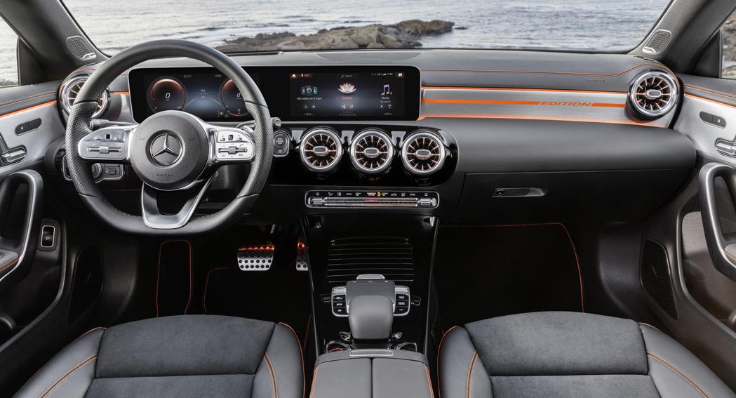 Mercedes CLA Coupe, 2019, interior, Dailycarblog.com