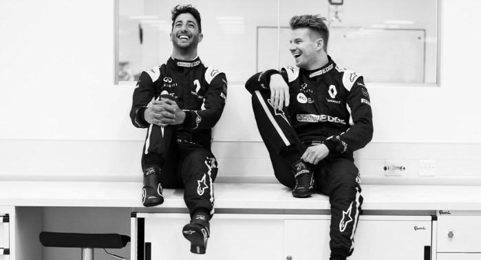 Dapper Dan Ricciardo new Reanult F1 colours, dailycarblog.com