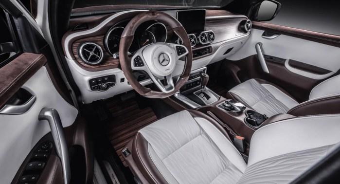 Nissan Mercedes X Class Carlex Design Dailycarblog.com