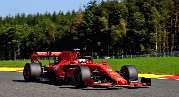 Ferrari is The Thunder Leclerc