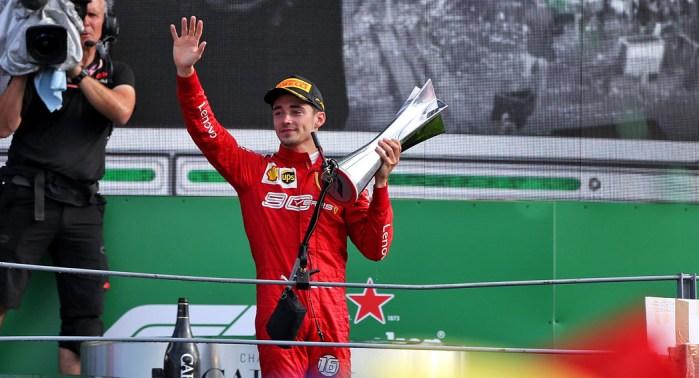 2019 Italian Grand Prix Leclerc dailycarblog.com