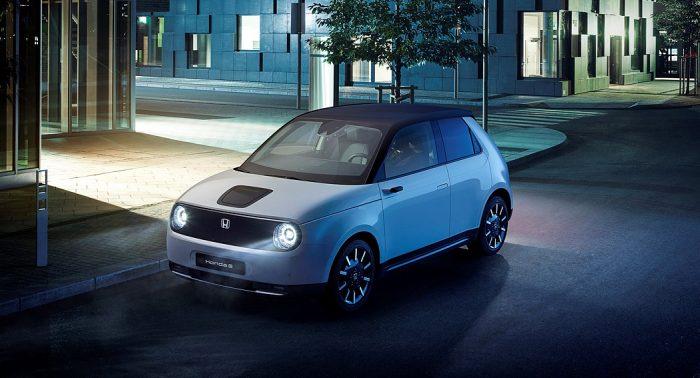 Honda E Electric Vehicle dailycarblog.com