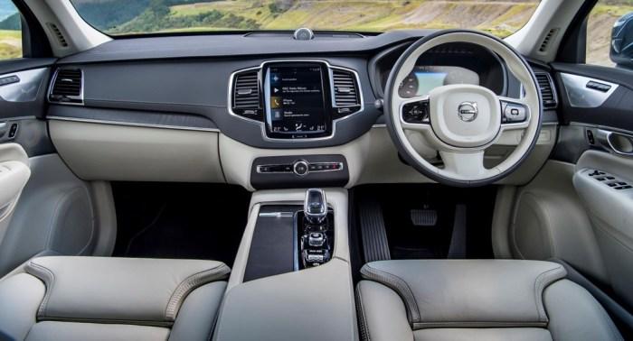 Volvo XC90 2019 interior updates