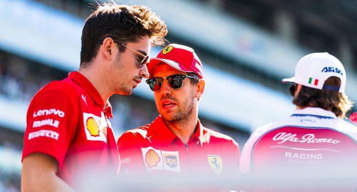 Sebastian Vettel vs Charles Leclerc daiycarblog.com