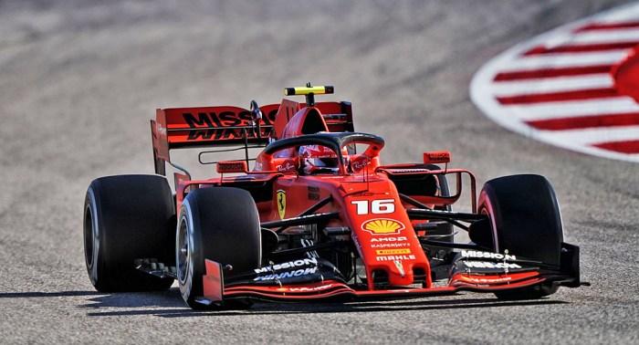 2019 United States Grand Prix, Leclerc, dailycarblog.com