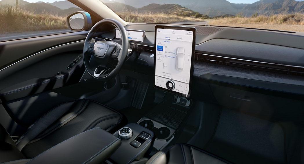 Ford Mustang Mach-E Interior dilycarblog.com