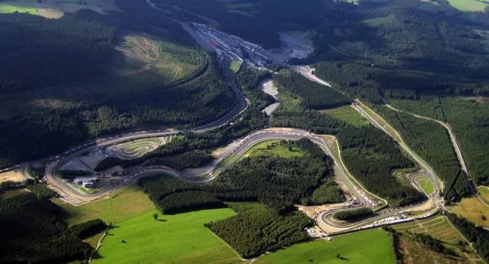 F1 Circuits explained - Spa Francorchamps - Dailycarblog.com