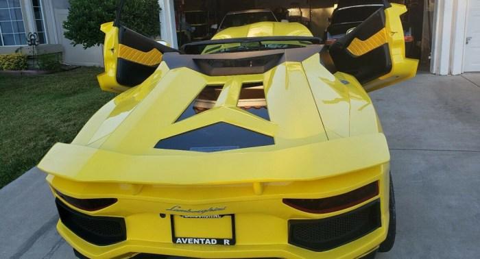 Aventador - Freakish Replica - Mutant - Rear - Dailycarblog.com