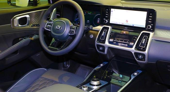 Kia Sorento - 2020 Updates - Interior - Dailycarblog.com