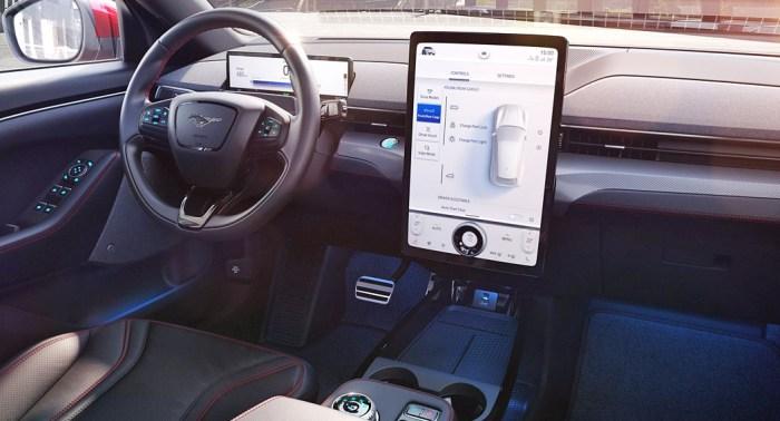 Ford Mach-E UK 2020 Pricing - Interior - Dailycarblog.com