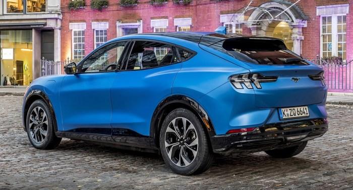 Ford Mach-E UK 2020 Pricing - RE - Dailycarblog.com