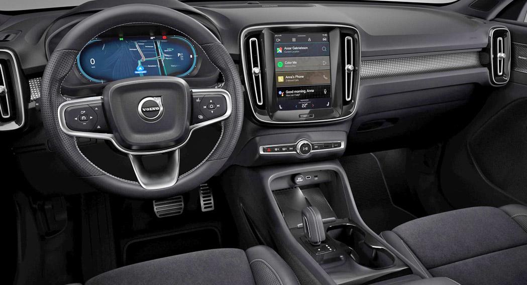 Volvo XC40 Recharge, interior, dailycarblog.com
