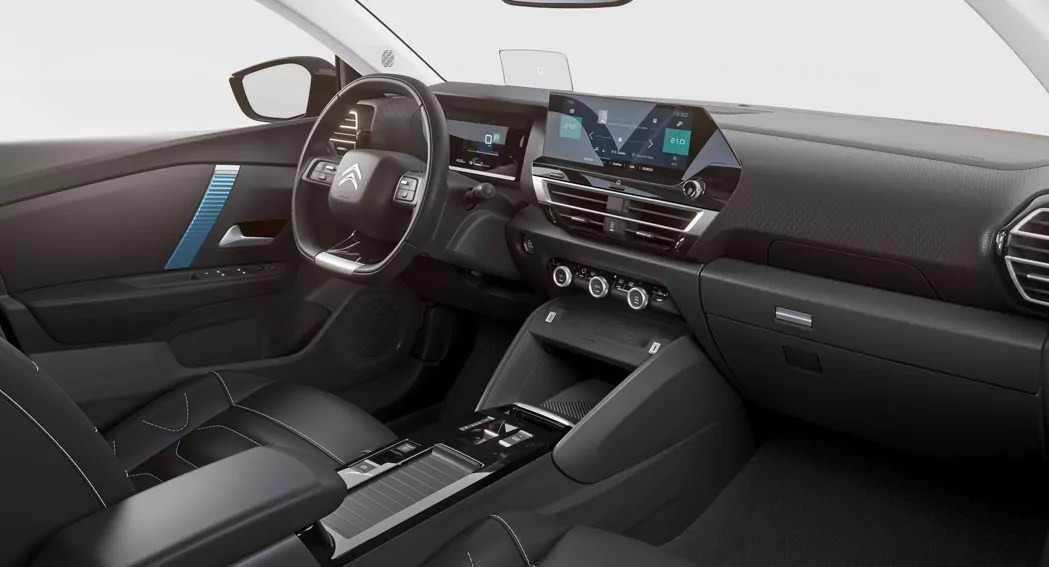 Citroen eC4, 2021, interior, dailycarblog