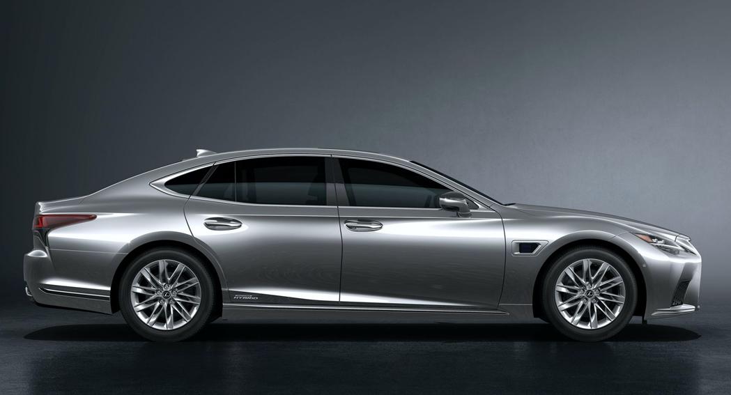 2021 Lexus LS, SE, dailycarblog