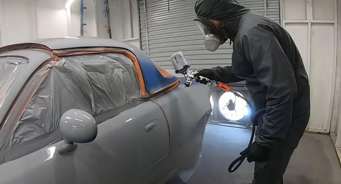 Painting Your Car, undercoat, dailycarblog