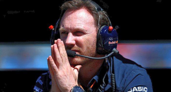 Christian Horner Red Praying Bull Honda dailycarblog.com