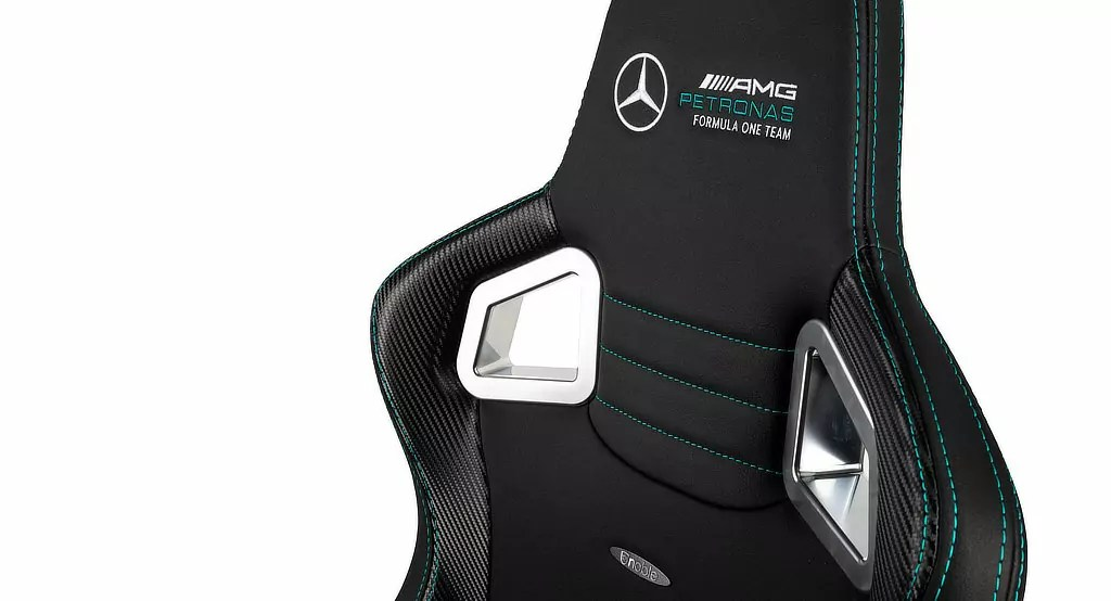 Mercedes F1 Luxury Gaming Chair -Details - Daily car blog