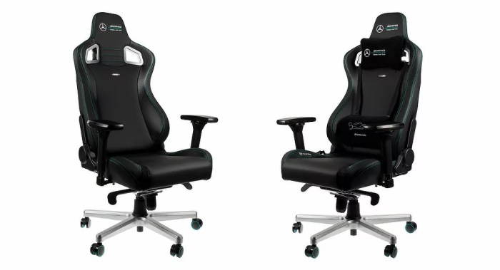 Noble Chairs Mercedes F1 Luxury Gaming Chair - Daily car blog