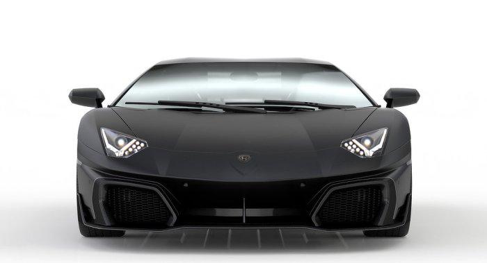 Huber Lamborghini Aventador - Front - Dailycarblog