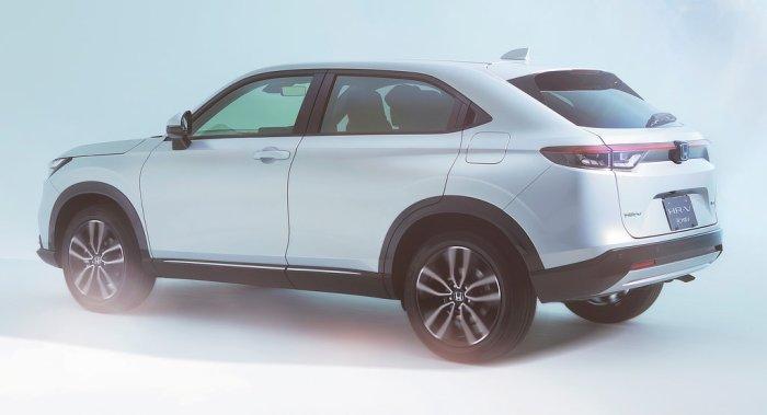 Honda HR-V Rear Dailycarblog