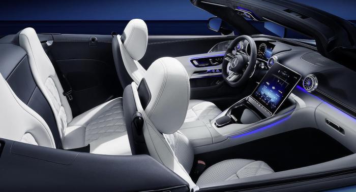 2022 Mercedes SL - dailycarblog