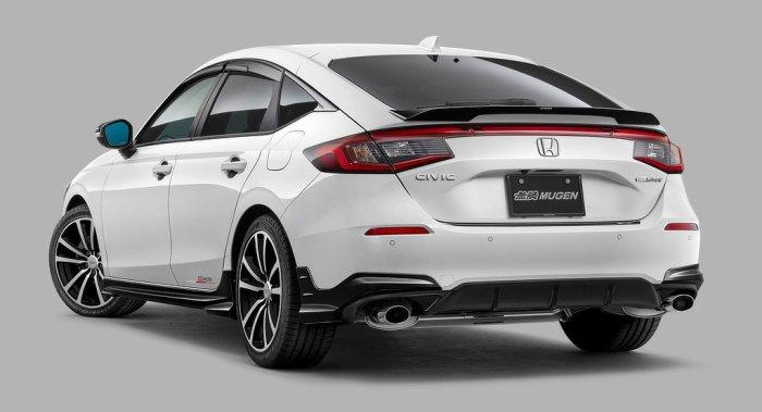 Mugen Honda Civic Bodykit revealed - Rear - dailycarblog