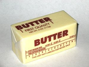 Western-pack shape butter