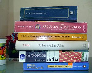Stack of Books - Image via wikipedia