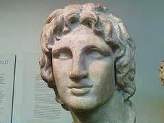 Alexander the Great portrait half profile (Photo credit: history-art-photos)
