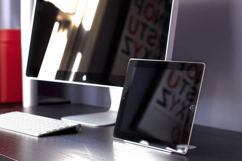 Magnetic iPad Stand