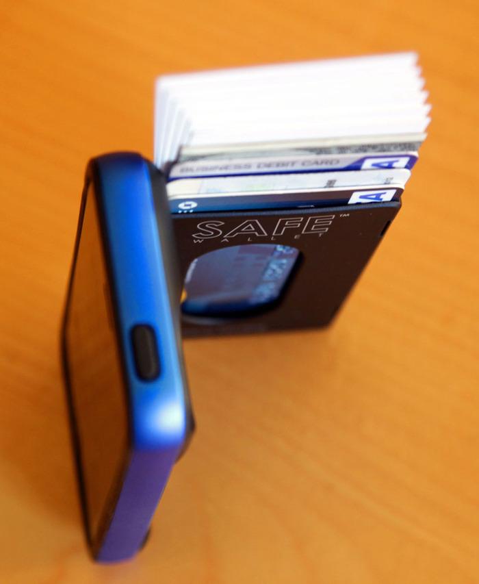 Safe Wallet iPhone 5 Case